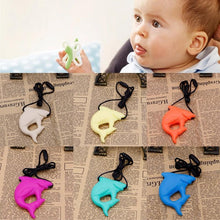 Fresh Deals Baby Baby Shark Pendant Teething Necklace