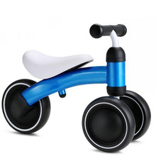 Fresh Deals Baby Blue Baby Self Balance Bike Tricycle