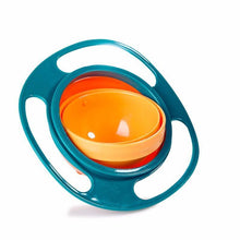 Fresh Deals Baby Green 360 Rotate Spill-Proof Gyro Bowl