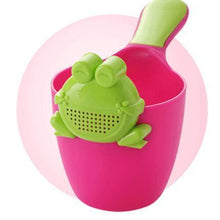 Fresh Deals Baby Green Frog Baby Bath Shower Water Frog Spoon Cup