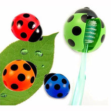 Fresh Deals Baby Ladybug Cartoon Toothbrush Holder