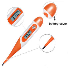 Fresh Deals Baby orange / PVC Child soft head digital thermometer