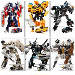 Fresh Deals Baby & Toddler 16 Style Transformation 4 Cars Action Figures Robot Toys
