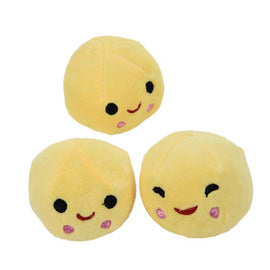 Fresh Deals Baby & Toddler 25cm yellow Kids Plush Pea Stuffed Plant Doll Girlfriend Pillow Toy