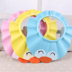 Fresh Deals Baby & Toddler Adjustable Shampoo Bathing Cartoon Shower Hat