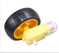 Fresh Deals Baby & Toddler Arduino Smart Car Robot Tire Wheel with DC 3-6V Gear Motor