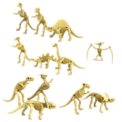 Fresh Deals Baby & Toddler Assorted Fossil Dinosaur Skeleton Figures Toy Kids