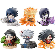 6 Pcs Naruto Cute Version Action Japanese Anime Toys For Kid S