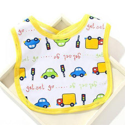 Fresh Deals Baby & Toddler B Babies Double-Layer Skin Friendly Saliva Towel Bibs