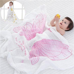 Fresh Deals Baby & Toddler B Baby Dual-layer Muslin Cotton Breathable Towel
