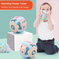 Fresh Deals Baby & Toddler Babies Fitness Hand Rattle Soft Plastic Sound Ball