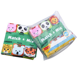 Fresh Deals Baby & Toddler Baby Animals Learning Education Book Cloth Rattles Toy