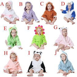 Fresh Deals Baby & Toddler Baby Bathrobe Cartoon Character Bathing Towel