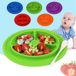 Fresh Deals Baby & Toddler Baby Dinner Non-staple Food Compartment Bowl