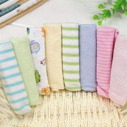 Fresh Deals Baby & Toddler Baby Handkerchief Washcloth Nursing Towels Set