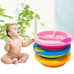 Fresh Deals Baby & Toddler Baby Insulation Anti-Overturn Bowl Non-Slip Dish
