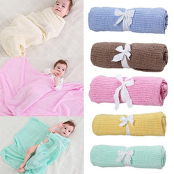 Fresh Deals Baby & Toddler Baby Knitted Casual Air Conditioning Blanket
