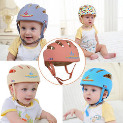 Fresh Deals Baby & Toddler Baby Learn Walk Anti Collision Safety Helmet Drop Cap