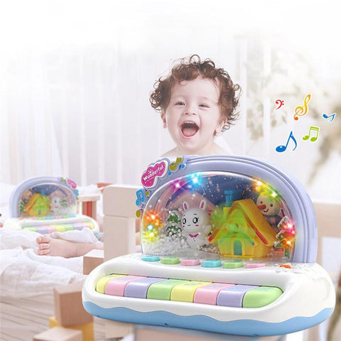 Fresh Deals Baby & Toddler Baby Musical Toys Snowflake Keyboard Piano Toys
