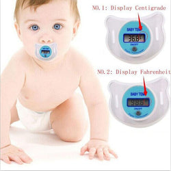 Fresh Deals Baby & Toddler Baby Nipple Medical Silicone LCD Digital Thermometer