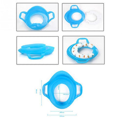 Fresh Deals Baby & Toddler Baby Potty Training Handles Cushion Padded Safety Seat