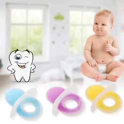 Fresh Deals Baby & Toddler Baby Silicone Two-color Cartoon Style Toy Nipples Teether