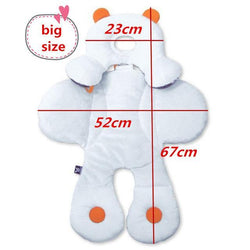 Fresh Deals Baby & Toddler Big Multi functional Baby Safety Cushion Rattle Mat Stroller