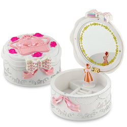 Fresh Deals Baby & Toddler Carousel Musical Boxes Toy with Rotating Doll