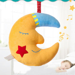 Fresh Deals Baby & Toddler Cartoon Good Night Moon-Shaped Music Plush Toy