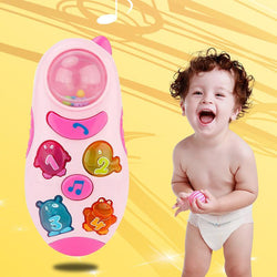 Fresh Deals Baby & Toddler Child Stop Crying Touch Screen Phone with Music