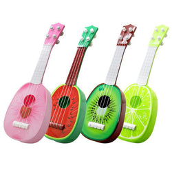 Fresh Deals Baby & Toddler Cute Fruit Style Musical Guitar Educational Instrument Toy