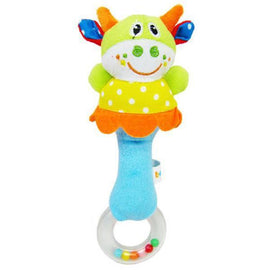 Fresh Deals Baby & Toddler Default Title Lovely Lion Plush Animal Cartoon Hand bell Rattle Toy