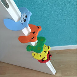 Fresh Deals Baby & Toddler Door Stopper Animal Baby Security Card Protection Tools