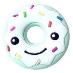 Fresh Deals Baby & Toddler E Baby Smiling Face Donut-shaped Cartoon Teether Toy