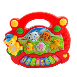 Fresh Deals Baby & Toddler Educational Animal Farm Piano Learning Musical Toys