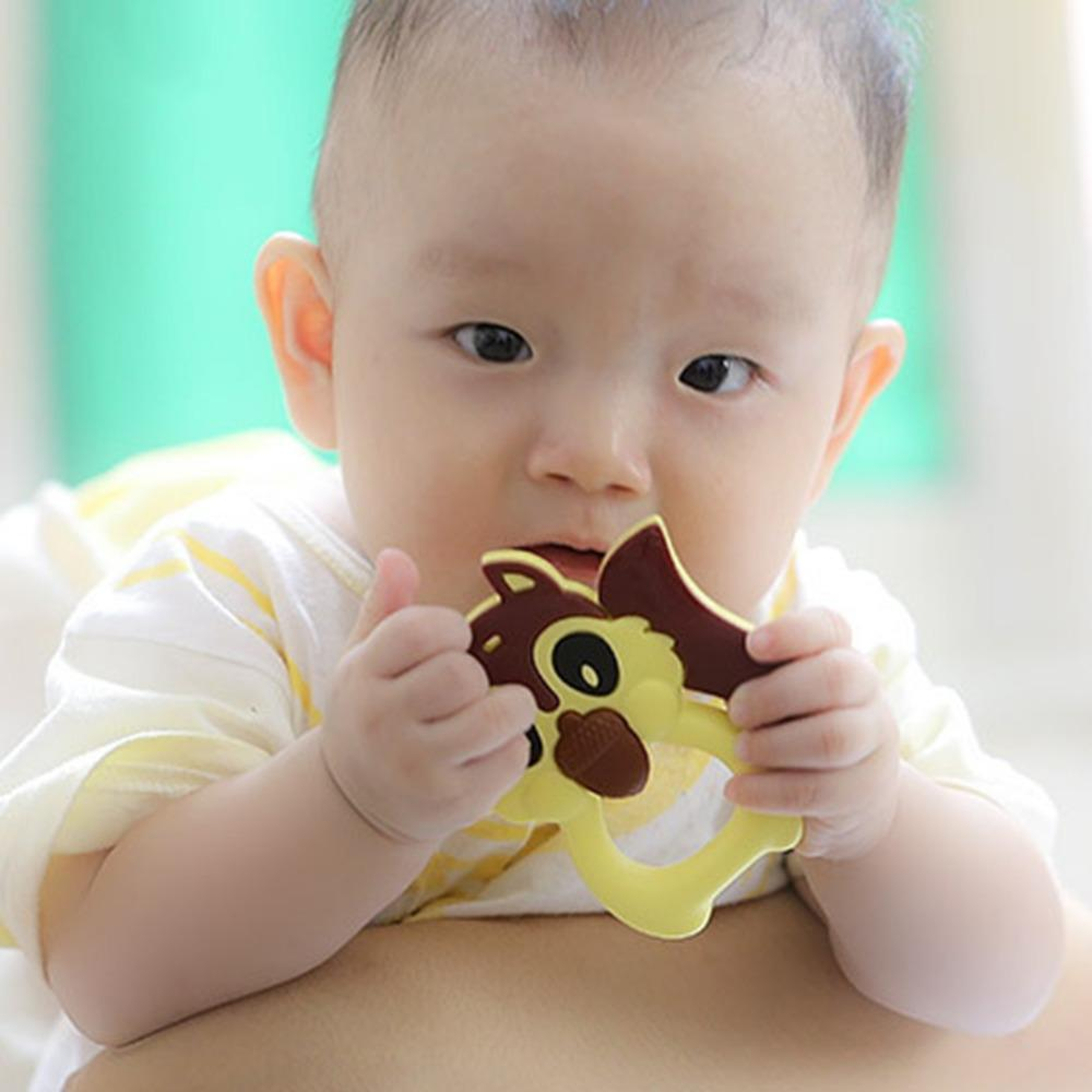 Food Grade Silicone Rubber Biting Baby Tither Toy – Fresh Deals