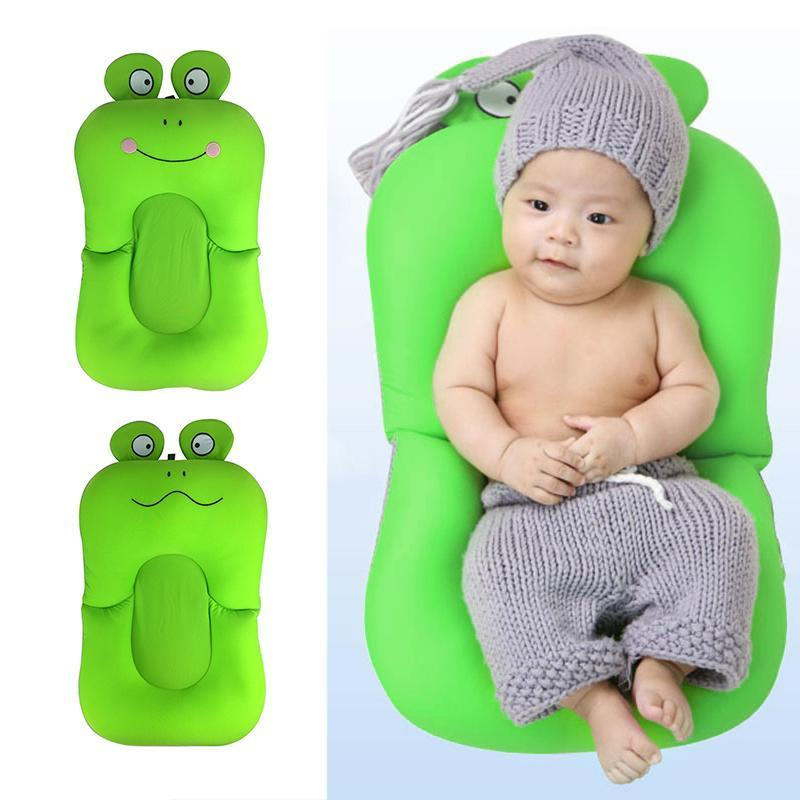 Frog Design Foldable Baby Shower Bath Tub Seat – Fresh Deals