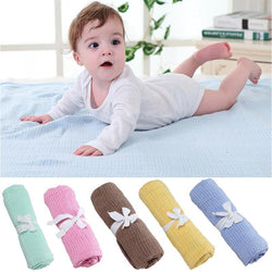 Fresh Deals Baby & Toddler GF0008304 Baby Knitted Casual Air Conditioning Blanket