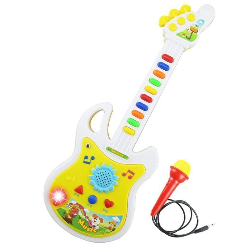 Kids Educational Electronic Guitar Music Instrument Toy Fresh Deals
