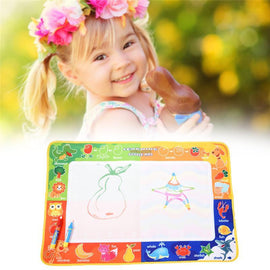 Fresh Deals Baby & Toddler Magic Water Doodle Pen Drawing Board Aquadoodle Rug Mat