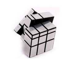 Fresh Deals Baby & Toddler Mirror Blocks Silver Magic Cube Puzzle Brain Teaser Education Toys