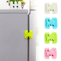Fresh Deals Baby & Toddler Pink Baby Safety Cartoon Shape Cabinet Fridge Door Locks