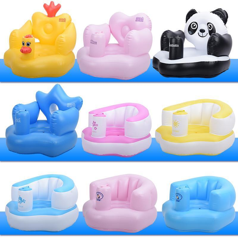 Portable Inflatable Baby Learning Seat Bath Sofa – Fresh Deals