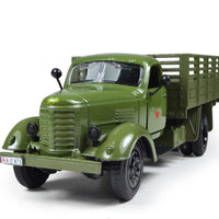 Fresh Deals Baby & Toddler Pull Back Acousto-optic Antique Army Jeep Carrier Vehicle