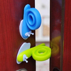 Fresh Deals Baby & Toddler Snail Shape Cabinet Door Stopper For Baby Safety
