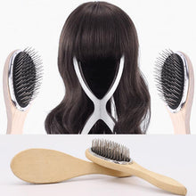 Fresh Deals Beauty & Health Anti-Static Healthcare Steel Tooth Wooden Comb