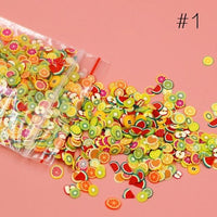 Fresh Deals Beauty & Health Fruit Fruit Shape Fimo Slices Polymer Clay Nail Art Stickers
