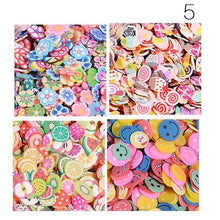 Fresh Deals Beauty & Health Mix Fruit Shape Fimo Slices Polymer Clay Nail Art Stickers