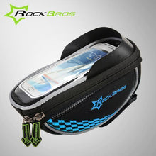 Fresh Deals Bike Accessory Blue ROCKBROS Road Cycling Front Top Saddle Bag