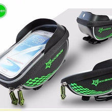 Fresh Deals Bike Accessory Green ROCKBROS Road Cycling Front Top Saddle Bag